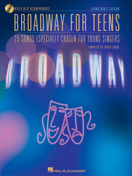 Broadway For Teens, Young Men's Edition, Book/Cd Pack