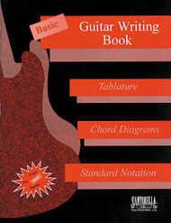 Basic Guitar Writing Book, Tab, & Standard Staves