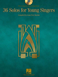 36 Solos For Young Singers, Book/Cd Package