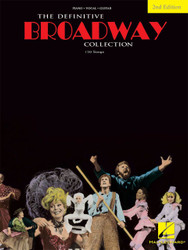 The Definitive Broadway Collection - Second Edition, P/V/G