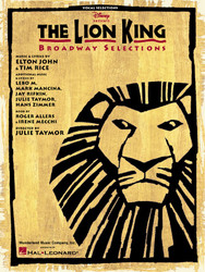 The Lion King - Broadway Selections, Piano/Vocal