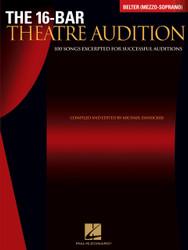 16-Bar Theatre Audition Belter (Mezzo-Soprano), Belter (Mezzo-Soprano) Edition, Belter (Mezzo-Soprano)