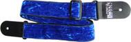 Fort Bryan Lounge Lizard Guitar Strap, Blue