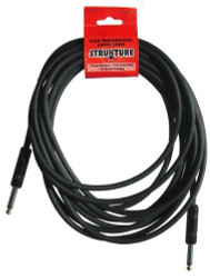 """18.6' Strukture High Performance Instrument Cable Straight/Straight 1/4"""" (SMC06)"""
