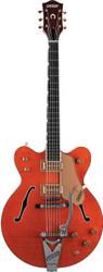 Gretsch G6120DC Chet Atkins Double Cutaway Hollow Body Electric Guitar - Orange