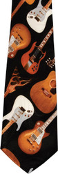 Steven Harris Tie - Guitar Assortment