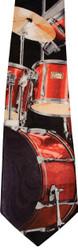 Steven Harris Tie - Red Drumset
