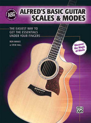 Alfred's Basic Guitar Scales & Modes The Easiest Way to Get the Essentials Under Your Fingers