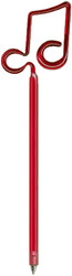 Bentcil Double Note Pen Red (06275RD)
