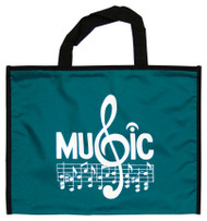 Portfolio Bag G Clef Music Staff (8124)