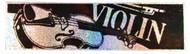 """CMC Bumper Sticker """"Violin"""" Pack of 6 (8312)"""