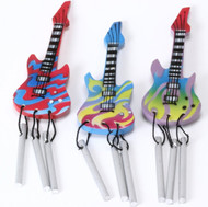 Magnetic Guitar Chime - 3 Assorted Tribal Designs - 12 Pac
