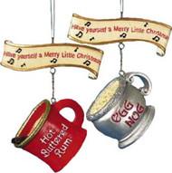 Kurt S Adler Ornaments - Christmas Mug