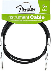 05' Fender Performance Series Cables Instrument Cable - Black