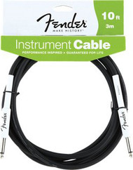 10' Fender Performance Guitar Cable Black