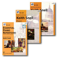 Neil A. Kjos Piano Library Piano Repertoire Level Six - Three Book Set - Incl..