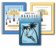 Jumpin' Jim's Ukulele Daily Song Pack - Three Book Set - Includes Ukulele Son..