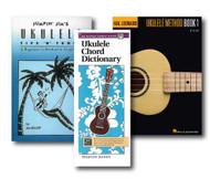 Ukulele Learner's Pack - 3 Book Set - Includes Alfred's Handy Guide Ukulele C..