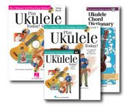 Play Ukulele - 3 book set - with Play Ukulele Today! ukulele method with CD a..