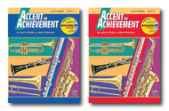 Accent On Achievement with Interactive CD for Alto Clarinet Eb- Two Book Set -..