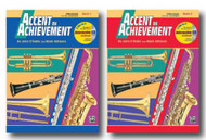 Accent On Achievement with Interactive CD for Percussion- Two Book Set - Incl..
