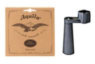 Ukulele String Bundle #3 - Aquila Soprano Ukulele Strings, Dunlop String Winde