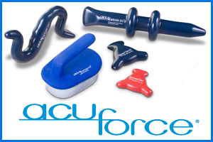 Acuforce massage therapy tools