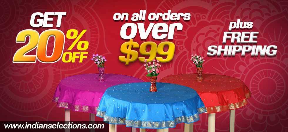 20 percent off table linens