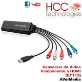 ET113 Conversor Video Componente a HDMI