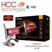 C729 DarkCrystal HD Capture SDK II - Línea Profesional [AVerMedia]