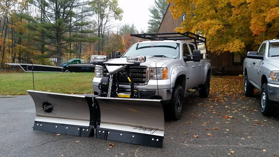 Fisher Xtremev Snowplow 8 5 Amp 9 5 Stainless Or Painted
