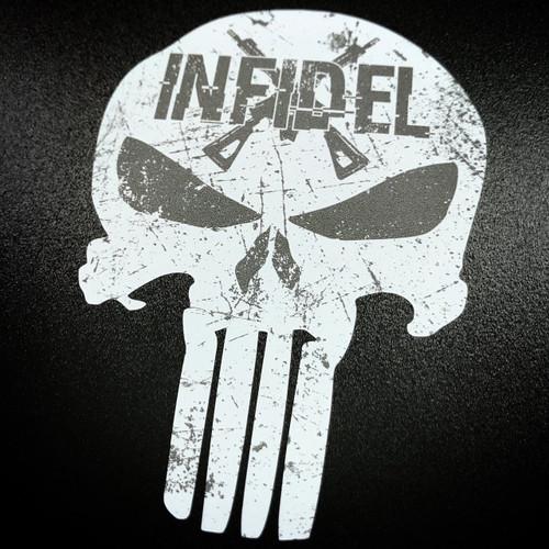 Punisher Infidel Sticker