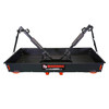Bicycle hitch carrier rack