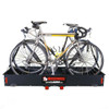 Two bicycle cargo carrier rack