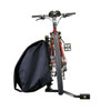 Sidesaddle View with Bicycle