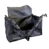 Cargo Bag Unzipped Open