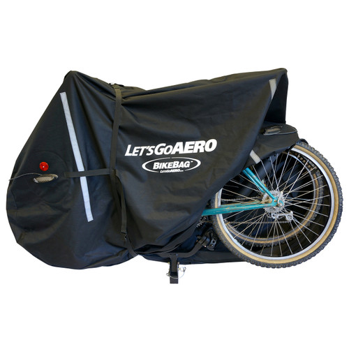 BikeBag Open with two bikes