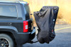 SideVide of BikeBag on SUV