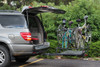 Fork-IT with Four Bikes Clears SUV Hatch