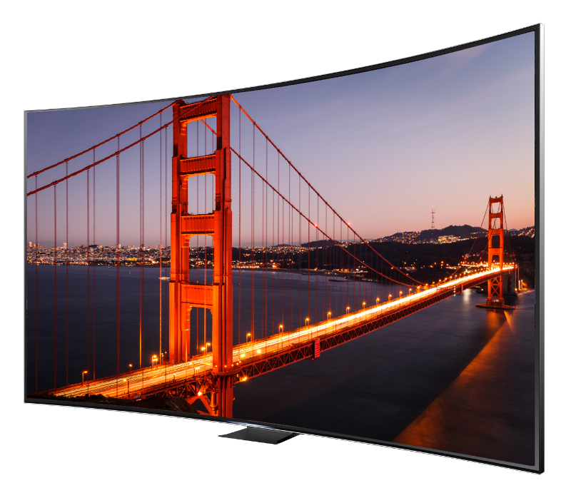 Golden Gate bridge on 4k tv