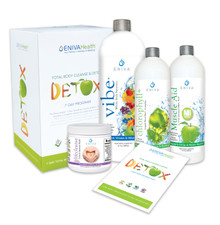 The most important thing we want you to know is this is a Total Body Cleanse. Many Detox and Cleanse programs on the market deal just with cleansing the colon. Eniva's 7-Day Program focuses on a variety of body systems for a more holistic and thorough, yet very gentle approach. Yes, our products help cleanse the colon, but they also assist with the entire detoxification process which involves the liver, kidneys, gallbladder, intestines, blood and many other organs and body systems.  Product ID # 32023