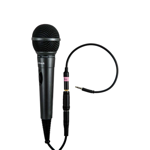 Mic-Dynamic w/ attached microphone
