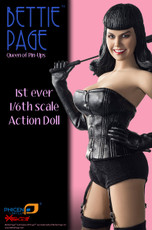 Executive Replicas Bettie Page 1/6 Scale Action Doll
