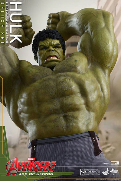 Hot Toys Avengers Age Of Ultron Deluxe Hulk 1 6 Scale Figure