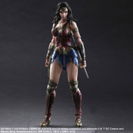 batman v superman play arts kai wonder woman figure