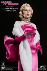 "Star Ace Marilyn Monroe as ""Lorelei Lee"" in ""Gentlemen Prefer Blondes"" - Pink Dress Version"