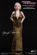 "Star Ace Marilyn Monroe as ""Lorelei Lee"" in ""Gentlemen Prefer Blondes"" - Gold Dress Version"