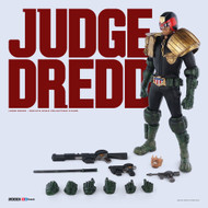 threea judge dredd sixth scale figure