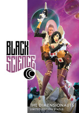 image comics black science statue