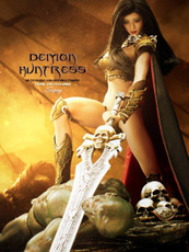 phicen demon huntress comic con exclusive sixth scale figure
